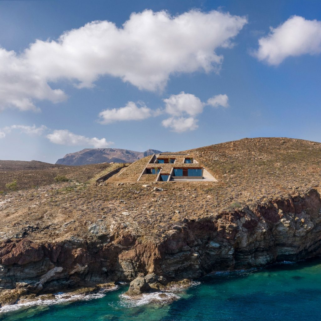 nCaved in Greece byMold Architects