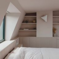 """Emil Eve Architects creates """"sense of calm"""" in pale pink loft extension"""
