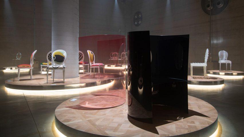 Nendo design for Dior Medallion exhibition