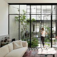 Meirav Galan transforms crumbling Tel Aviv townhouse with tranquil courtyard