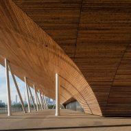 Nikken Sekkei's Ariake Gymnastics Centre celebrates timber construction