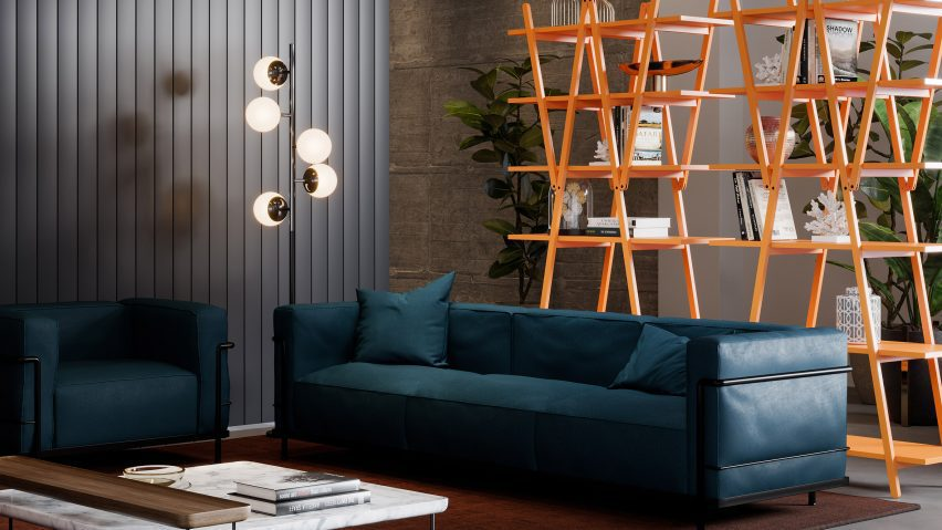 The bookcase has been reissued by Cassina