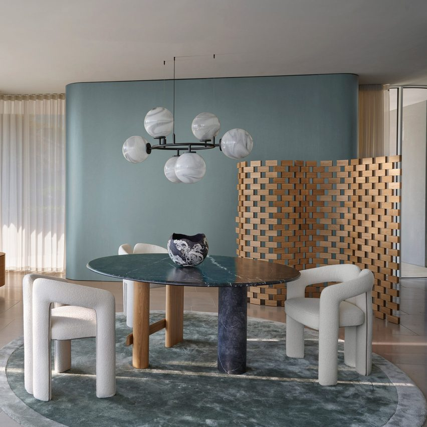 Paravent Ambassade screen by Charlotte Perriand for Cassina