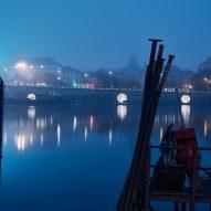 Prague waterfront by Petr Janda
