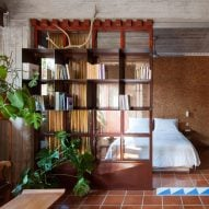 """Point Supreme uses raw concrete to enhance """"magical cave-like"""" feel of Athens apartment"""