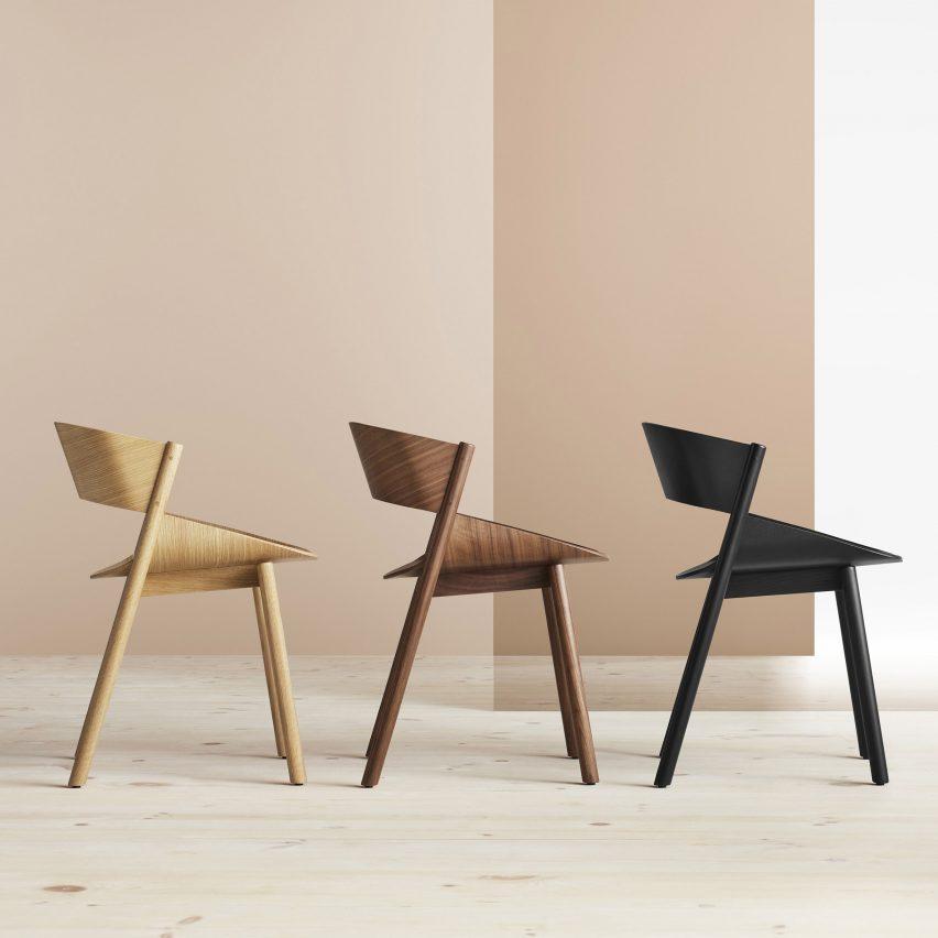 Port dining chair by Blu Dot