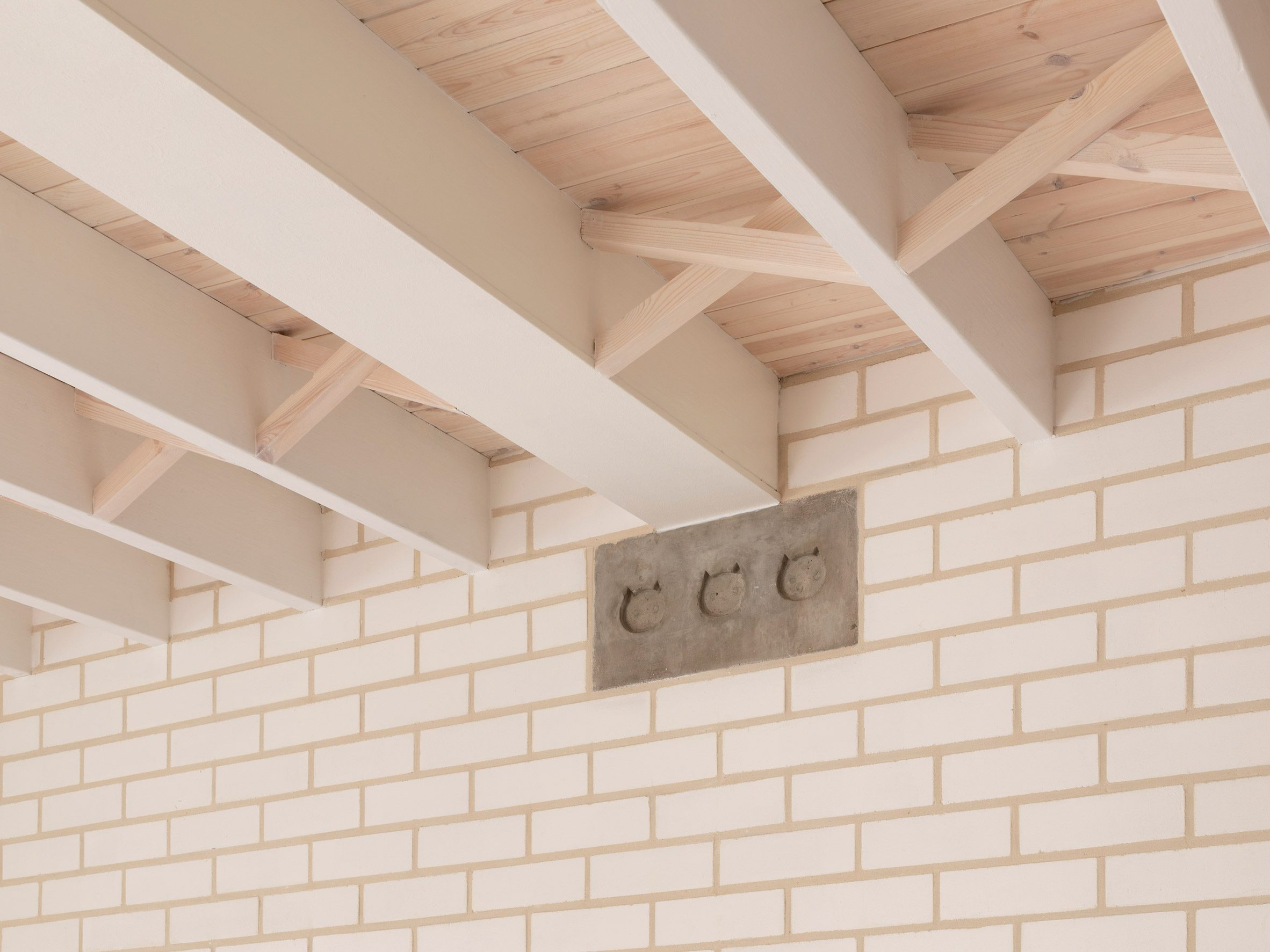 Cat details in The Queen of Catford by Tsuruta Architects
