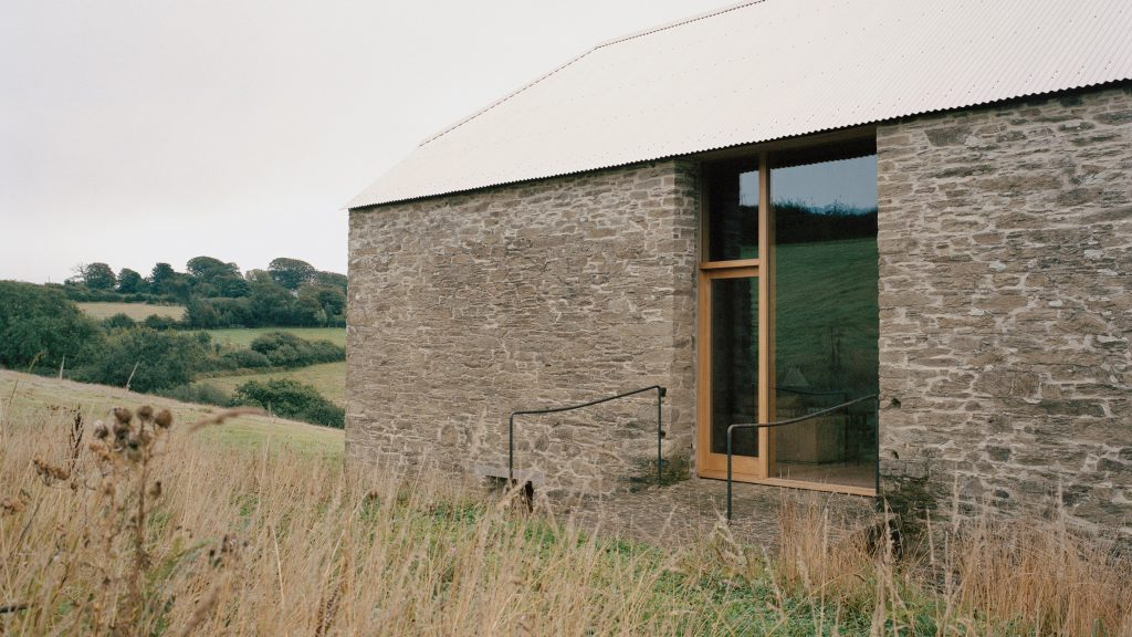 TYPE transforms stone barn into home in the English countryside
