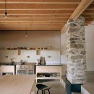 Redhill barn kitchen