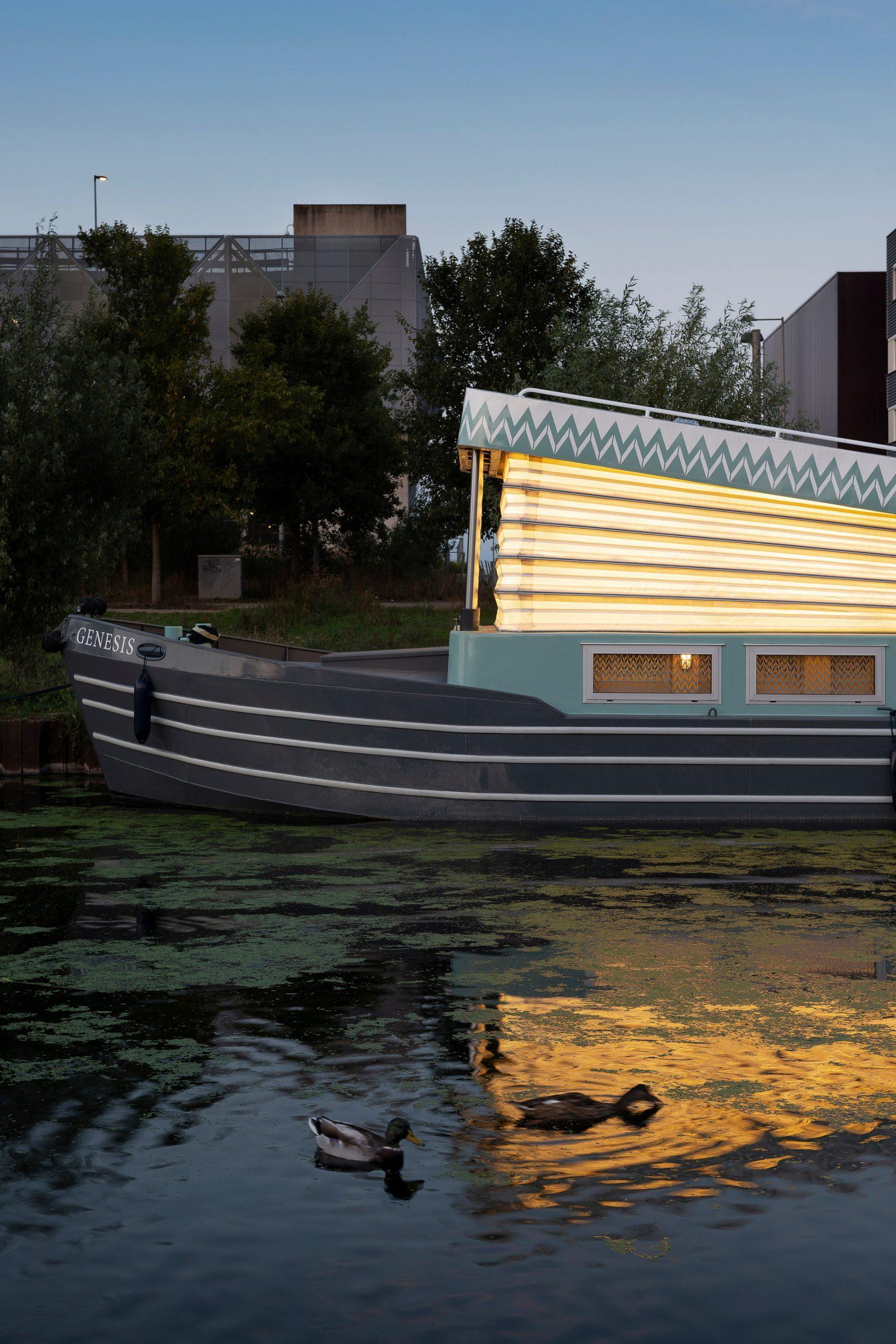 Floating church by Denizen Works