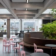 """Christ & Gantenbein designs Roche office to give staff """"a reason to come to work"""""""