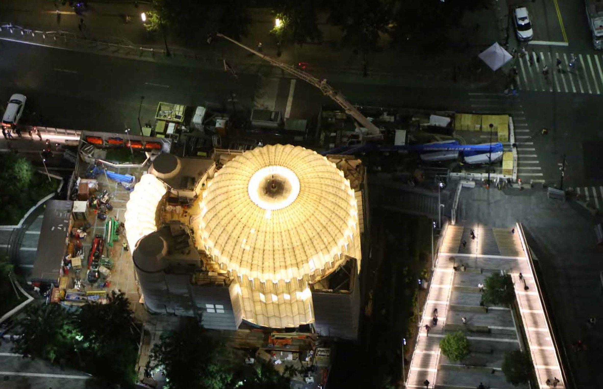 Церковь Всемирного торгового центра Сантьяго Калатрава