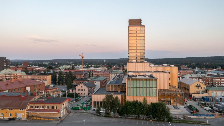 Sara Kulturhus and Wood Hotel