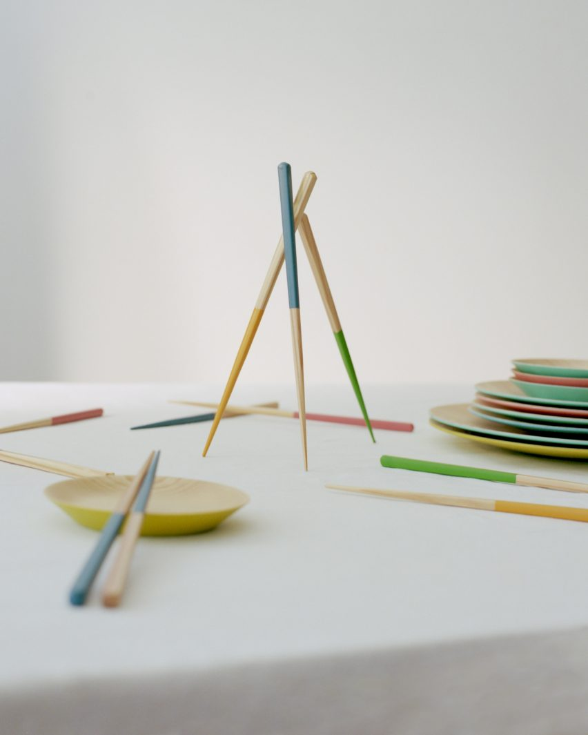 A photograph of chopsticks from Style of Japan homeware