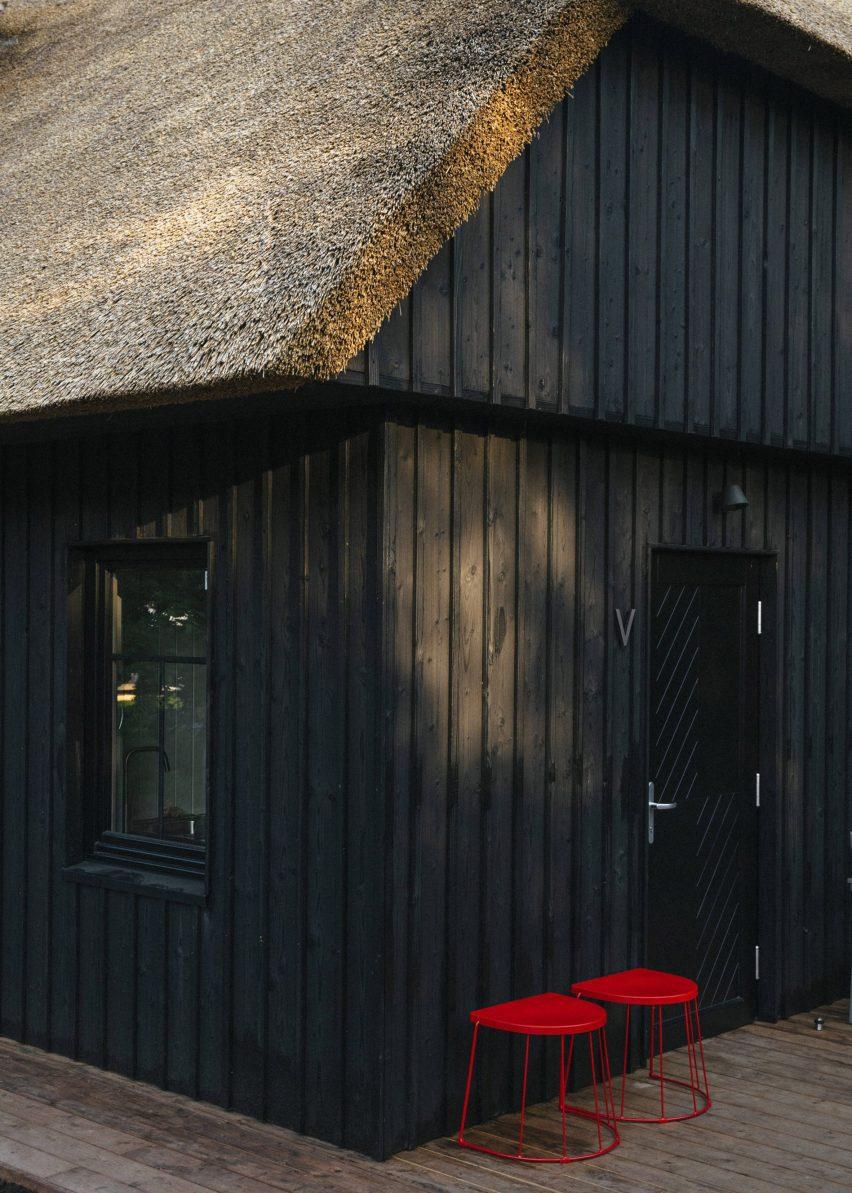Jūra Spot apartments feature individual doors and shared decks