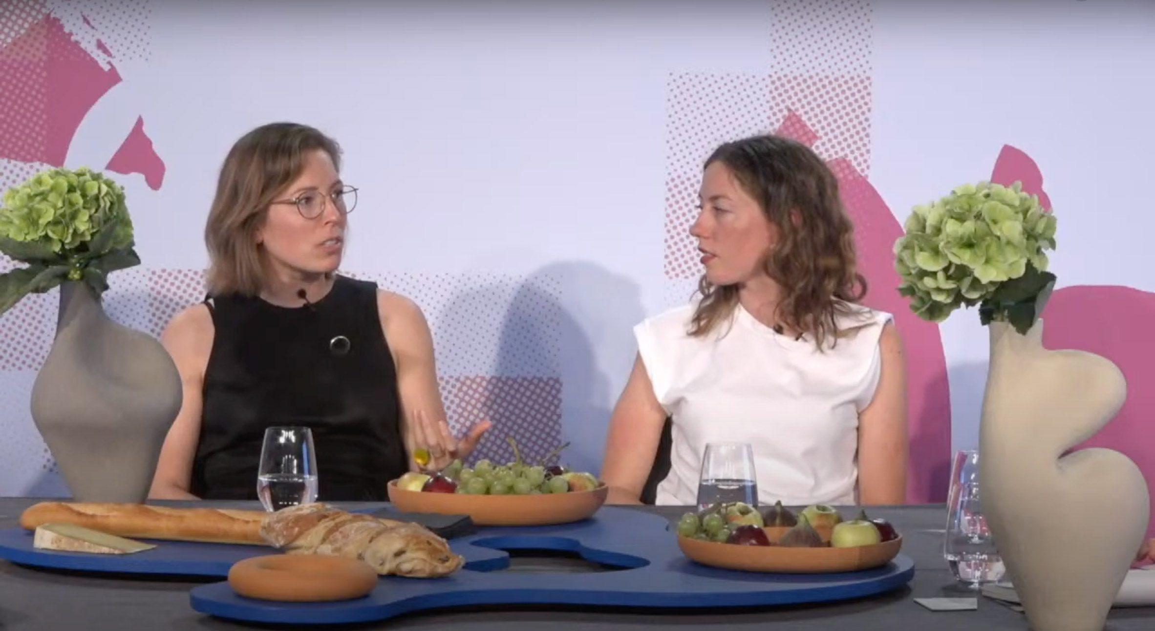 Марьян ван Обель и Полин ван Донген на Design Miami / Basel talk