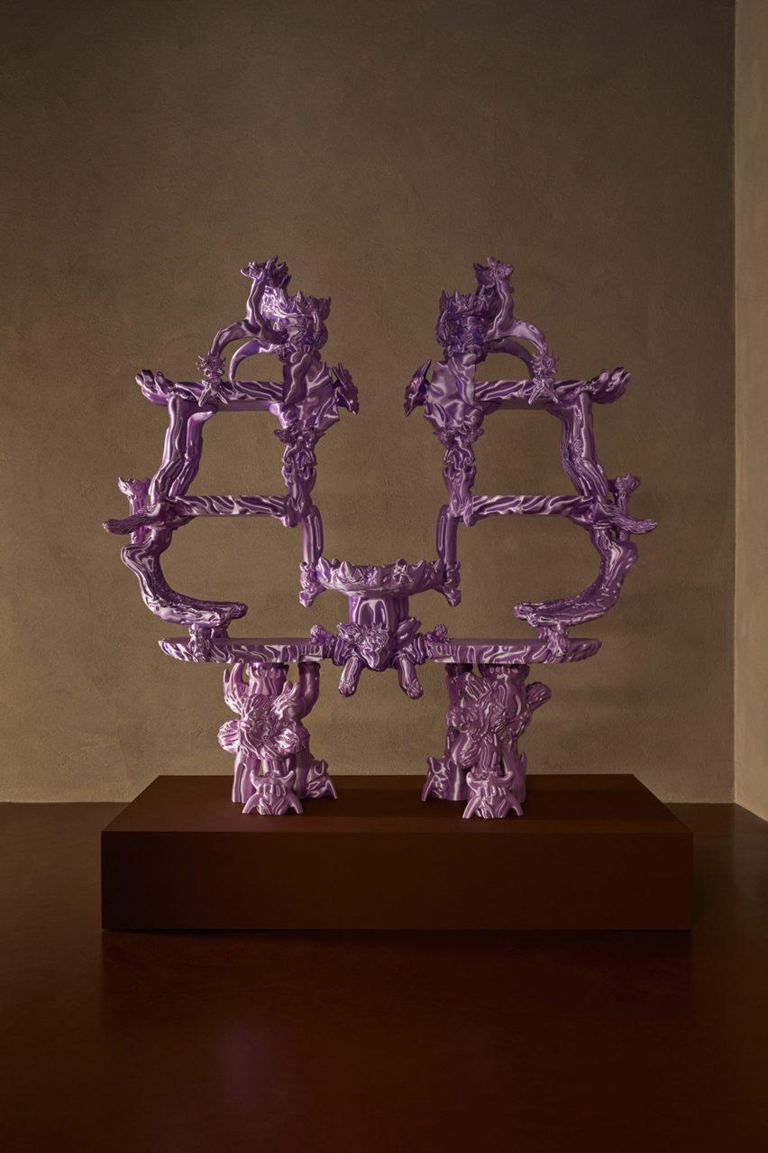 3D-printed sculpture by Audrey Large
