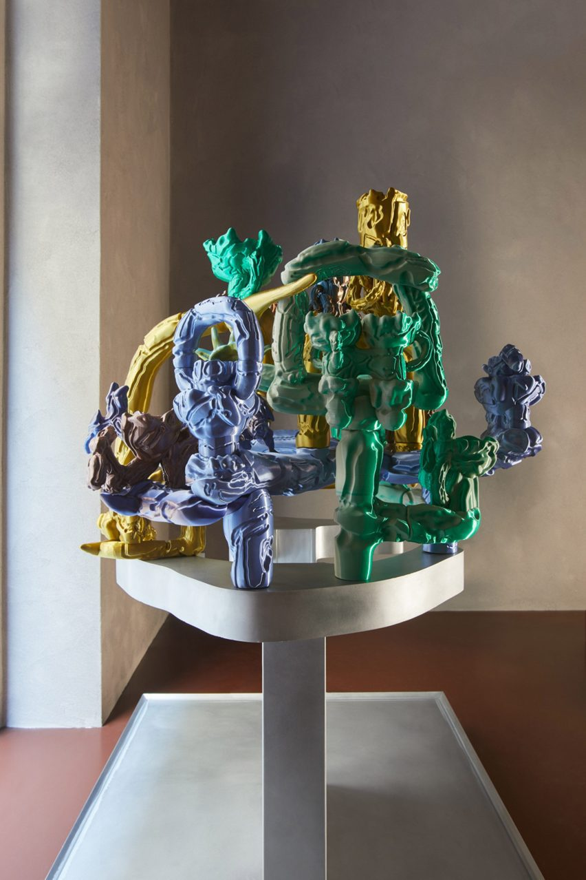 Sculpture by Audrey Large