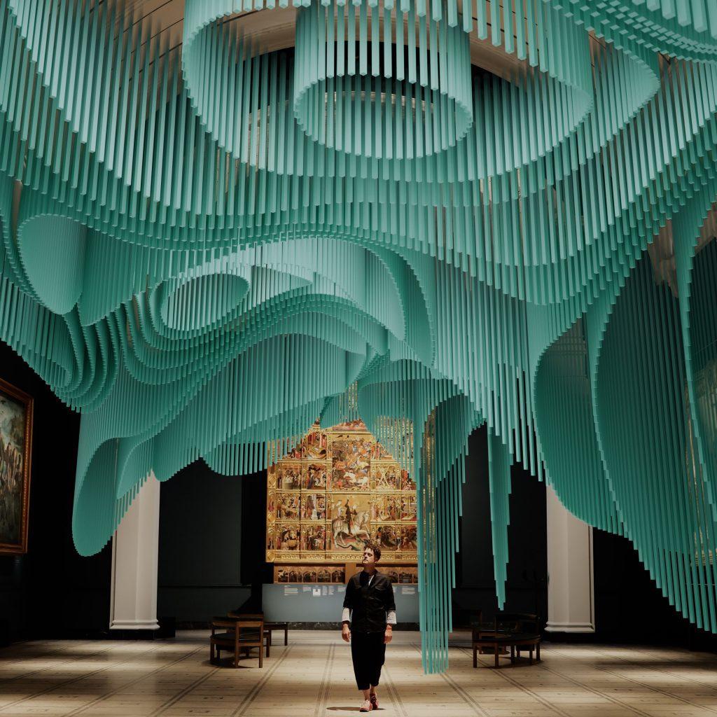 Sou Fujimoto creates undulating virtual installation in London