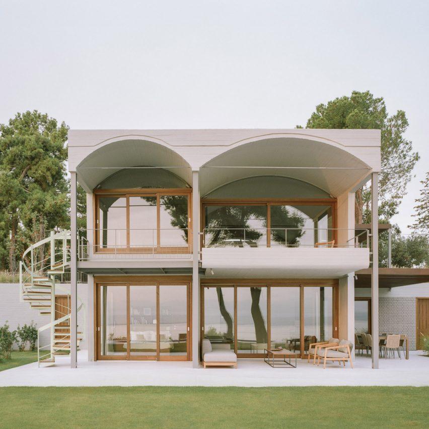A seaside villa in Greece