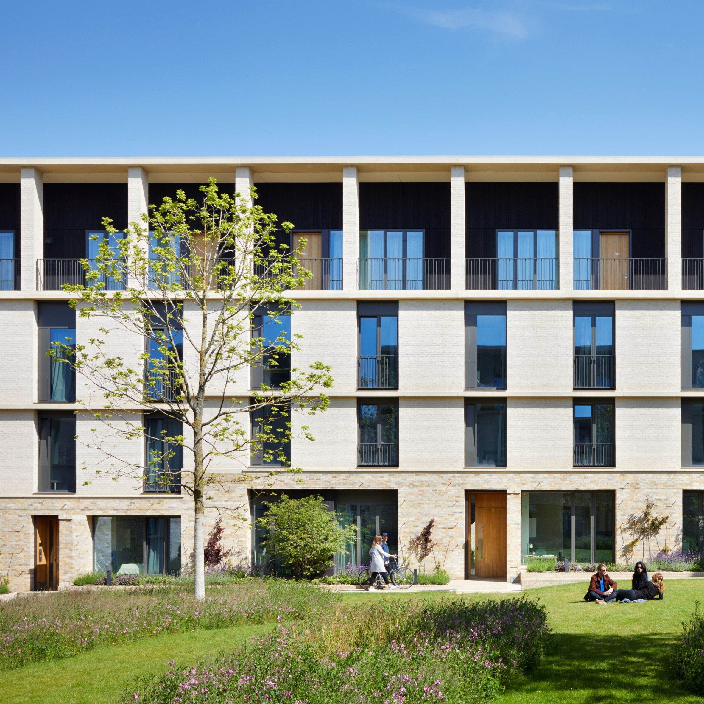 Stanton Williams draws on traditional urban layouts for Key Worker Housing in Cambridge