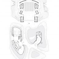 Yang Liping Performing Arts Center ground floor plan