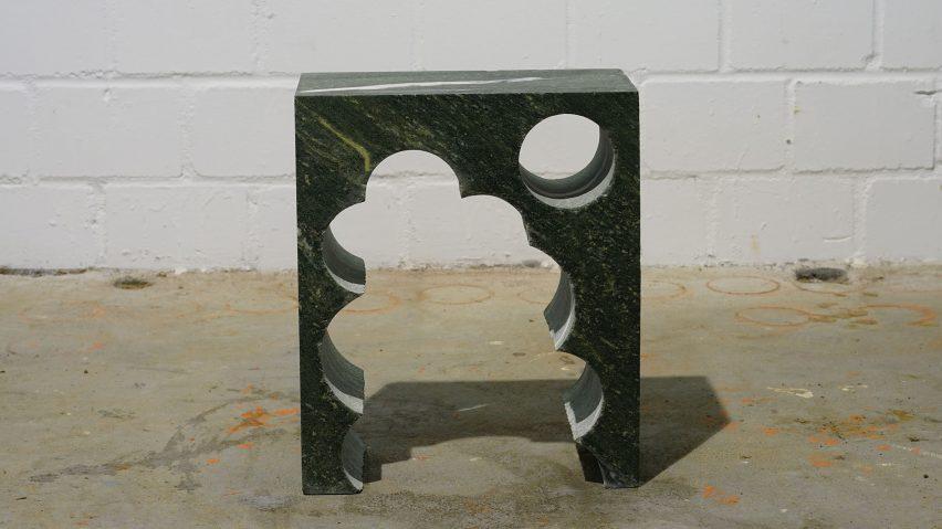 Teil 3 side table by Anima Ona