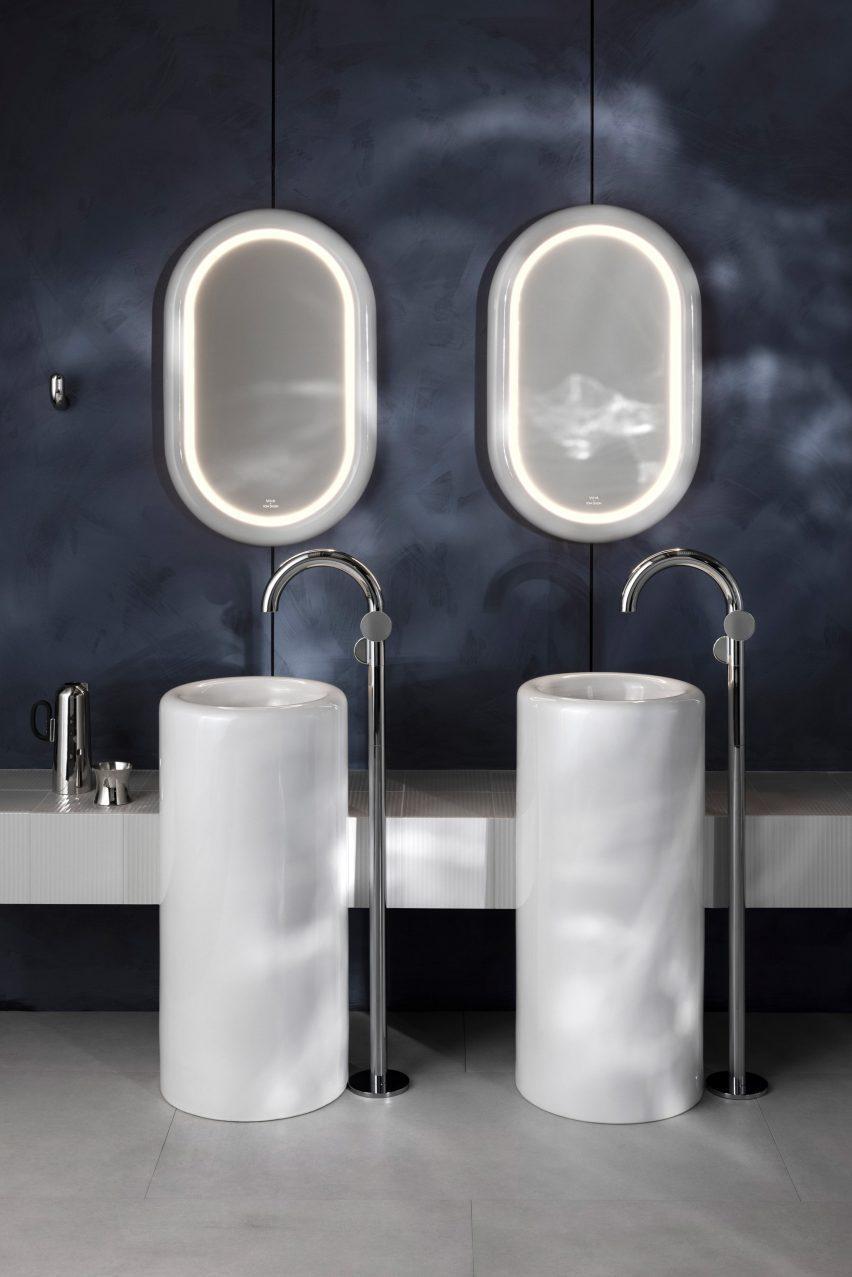 Tom Dixon's Liquid collection for VitrA bathrooms