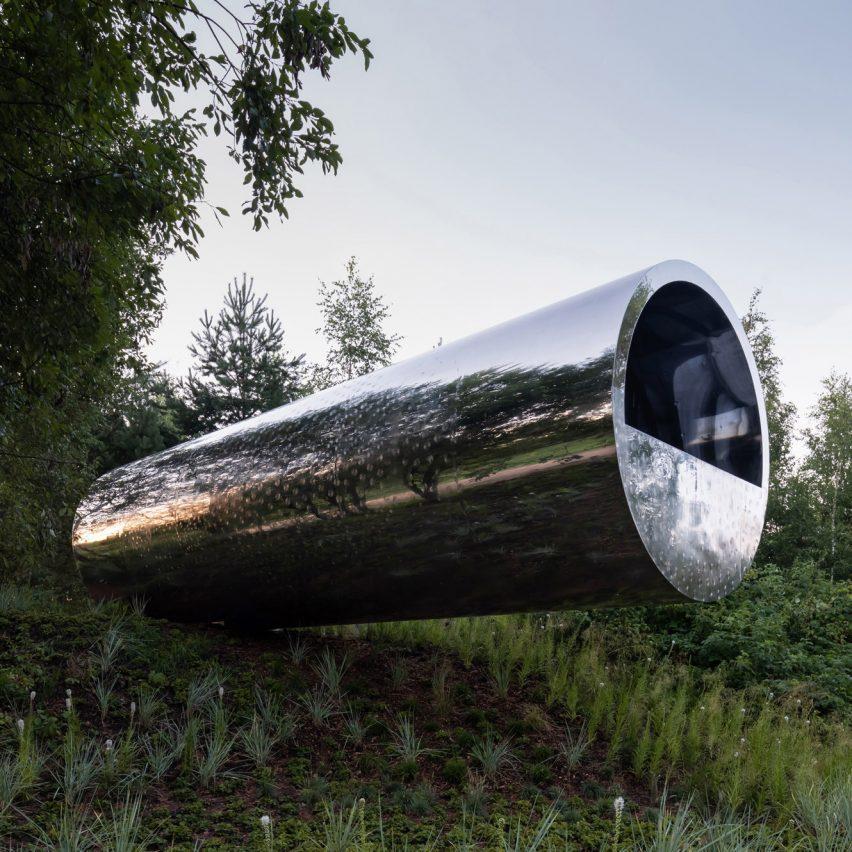 Трубчатый дом для отдыха в России