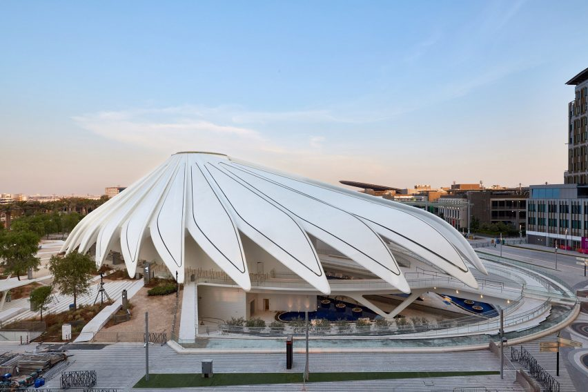 Павильон ОАЭ на выставке Dubai Expo