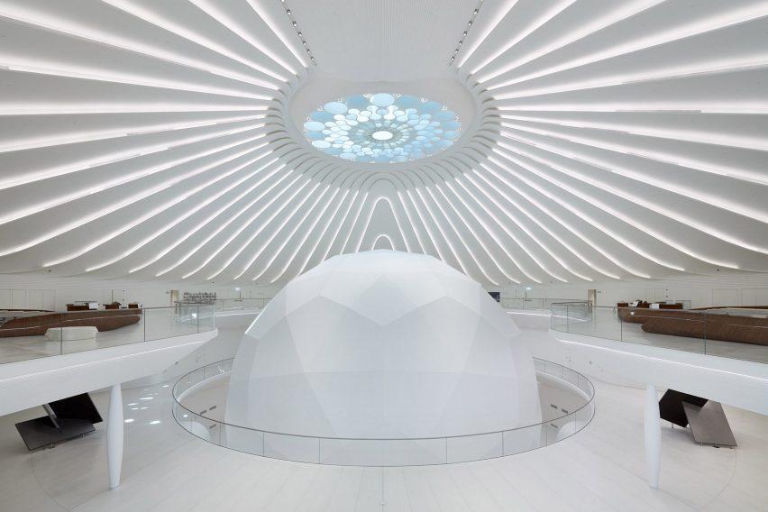 Зрительный зал сферической формы