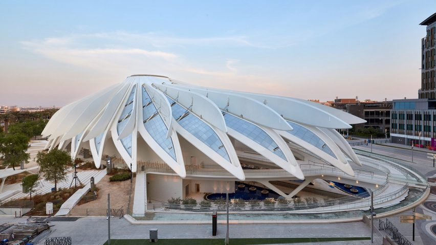 UAE Pavilion at Dubai Expo 2020 by Santiago Calatrava