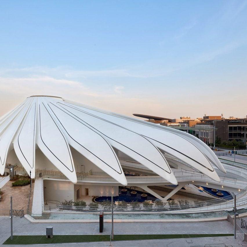 Павильон ОАЭ на выставке Dubai Expo 2020 от Сантьяго Калатрава