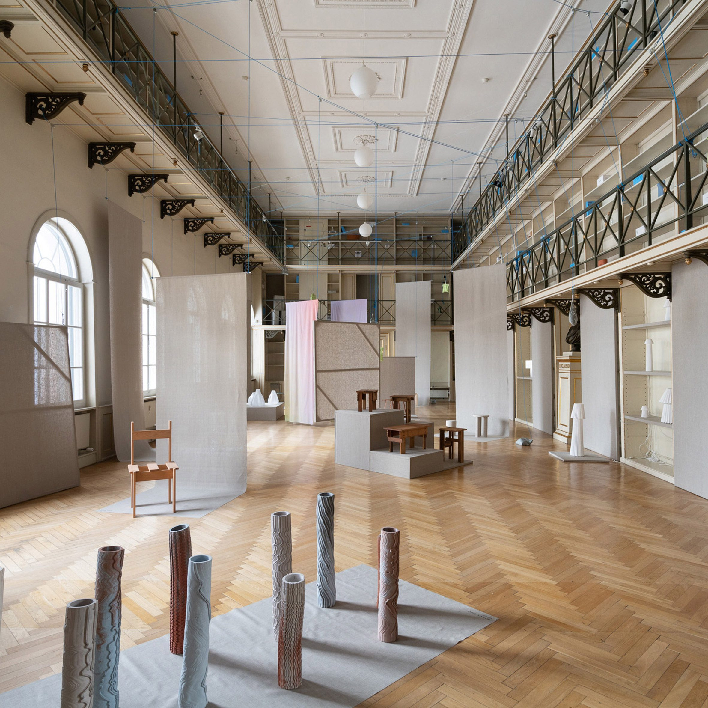 Bauhaus-informed chair and hemp vases feature in Ukurant Perspectives exhibition