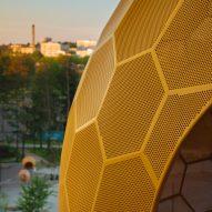 Vårbergstoppen Playground Sphere by AndrénFogelström
