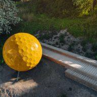 Vårbergstoppen Playground Spheres by AndrénFogelström