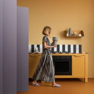 Very Simple Teklan Edition kitchen modules by Very Simple Kitchen and Tekla Evelina Severin