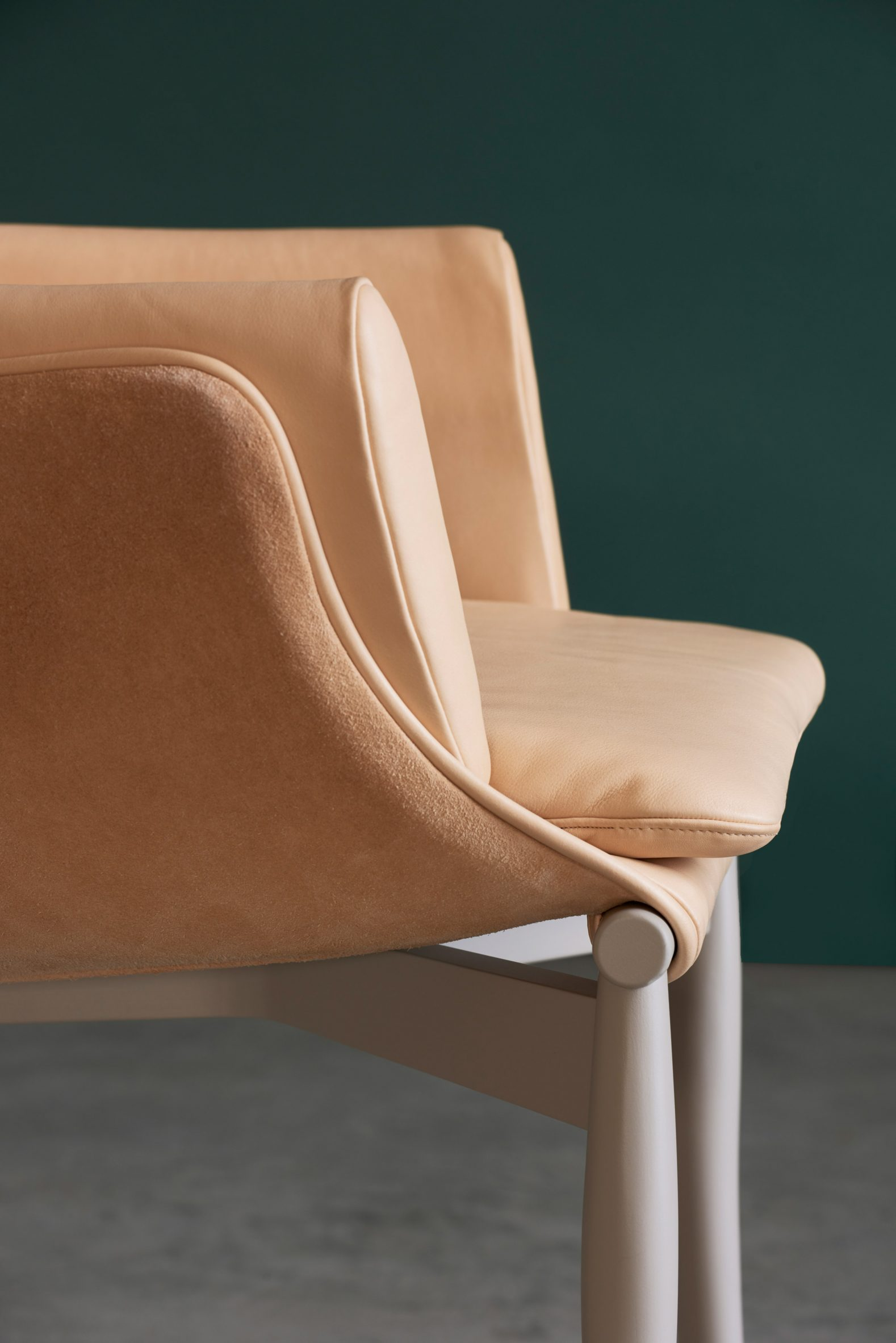 A detailed photograph of a chair