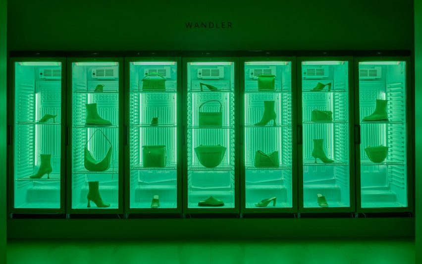 Product was displayed in refrigerator cases