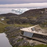 A climate research centre in Greenland features in today's Dezeen Weekly newsletter