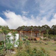 A rural Ecuadorian house features in today's Dezeen Weekly newsletter
