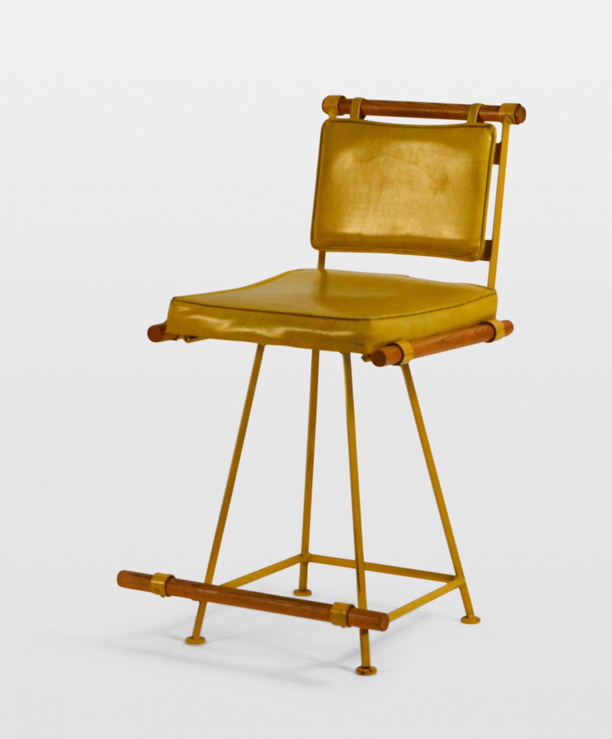 Counter stool, c 1970s, by Cleo Baldon