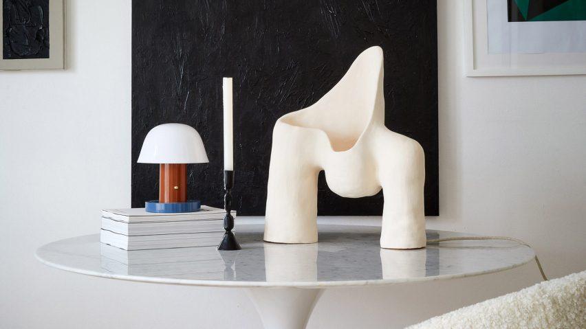 Womb Lamp series by Jan Ernst de Wet via Artskop