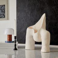 Womb Lamp series by Jan Ernst via Galerie Revel