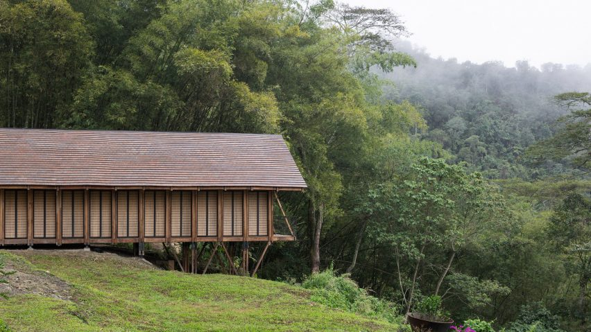 Woven House by Santiago Pradilla and Zuloark