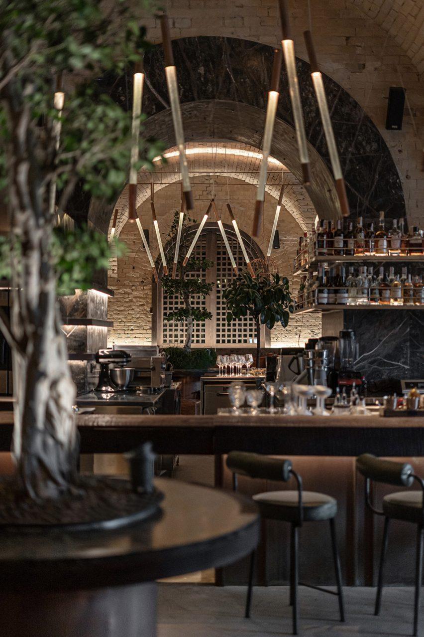 Virgin Izakaya Bar has an open kitchen