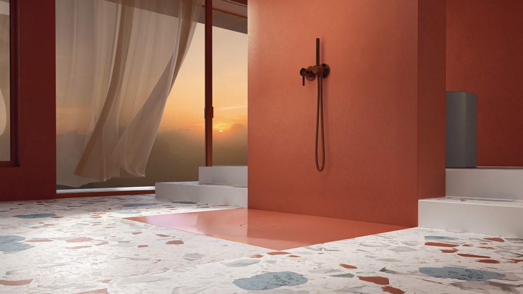 Tesseraux & Partner's BetteAir shower tiles among new products on Dezeen Showroom