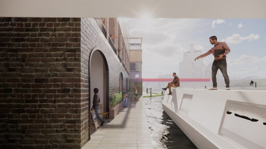 An illustration of a research and learning centre based in the heart of King's Cross
