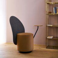 Loomi armchair by Lapo Ciatti for Opinion Ciatti