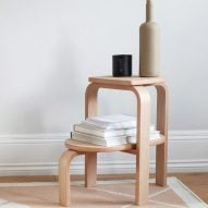 Altura step stool by Patricia Perez for Case Furniture
